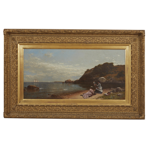 Alfred Thompson Bricher (1837-1908) Painting, Seascape