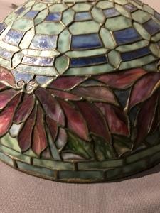 Tiffany Studios Poinsettia Table Lamp