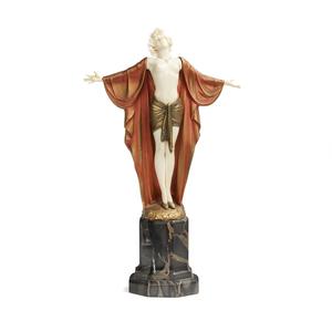 Ferdinand Preiss (1882-1943) Bronze Sculpture,