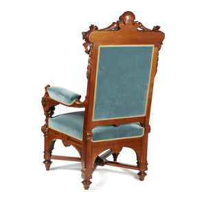 Herter Brothers Armchair Commissioned for Thurlow Lodge