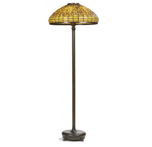 Tiffany Studios Leaded Glass Floor Lamp