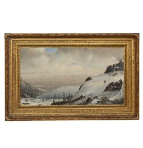 Norton Bush (1834-1894), Painting,