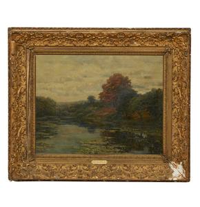 Robert Van Boskerck (1855-1932) Painting,