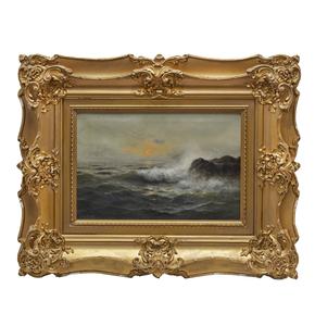 Nels Hagerup (1864-1922) Marine Painting