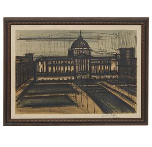 Bernard Buffet (1928-1999) Lithograph, Album San Francisco: City Hall