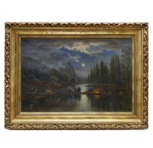 Joseph Geissler (1816-1899) Painting