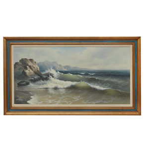 Eugene Garin (1922-1994), Seascape Painting