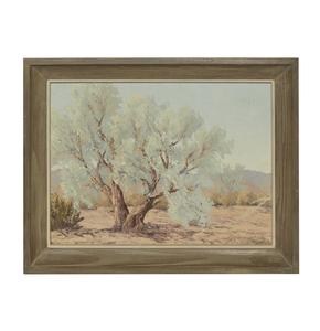 John William Hilton (1904-1983), Desert Landscape Painting