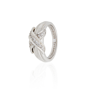 Tiffany & Co Diamond 18k White Gold Ring