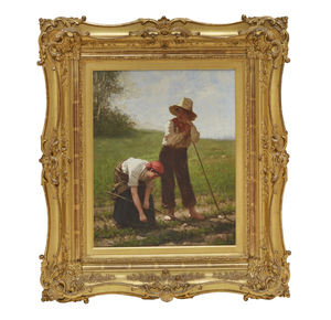 William Penn Morgan (1826-1900), Painting, Workers in the Field