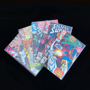 Ten Marvel Silver Surfer Comics