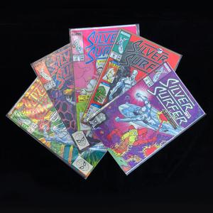 Ten Marvel Silver Surfer Comics