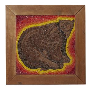 Attrib. to Beniamino Bufano (1898-1970, Bear Mosaic)
