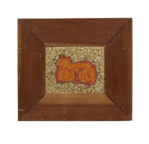 Attrib. Beniamino Bufano (1898-1970), Cat Mosaic