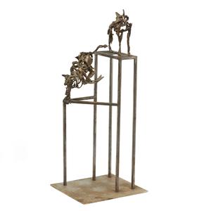John Battenberg (1931-2012) Bronze and Steel,