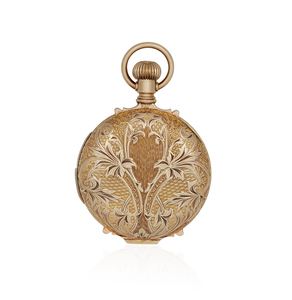 Swiss 14k Gold Automation Repeater Pocket Watch
