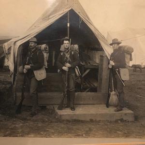 Indian or Spanish American War Photograph