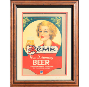 Acme Non Fattening Beer Advertisement