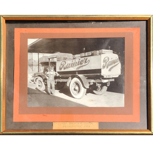 1920 Premier, Rainier Beer Truck Photo