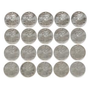 20 U.S. Liberty Silver Dollar 1992 Coins
