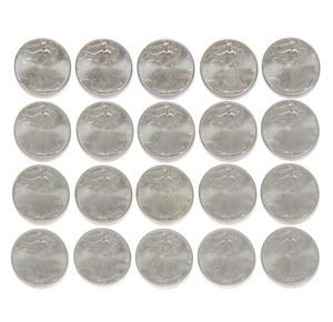 20 U.S. Silver Dollar 1995 Coins