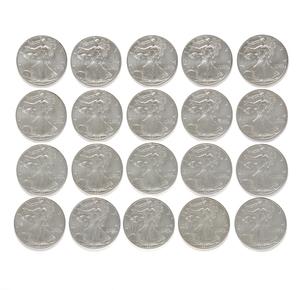 20 U.S. Liberty Silver Dollar 1997 Coins