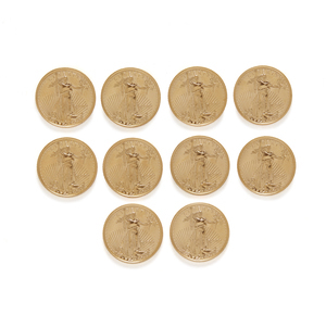10 1/10 oz BU Gold US Coins