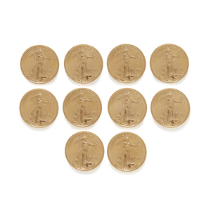 10 1/10 oz BU US Coins