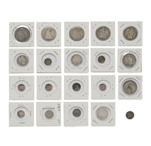 Twenty Assorted US Silver Coins