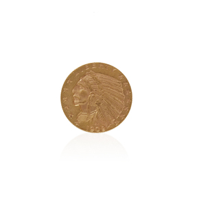 Gold $5 Indian Head Coin 1909