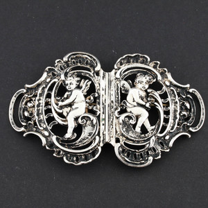 Antique French 800 Silver Belt