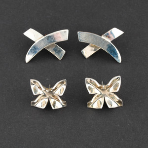 Taxco Mexican Sterling Silver Earrings