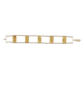 Fine Gold Bar Bracelet