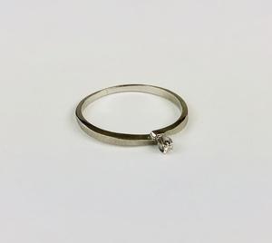 Very Small Diamond Ring