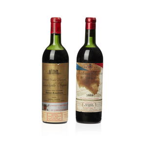 Two Bottles of St Emilion Red Wine