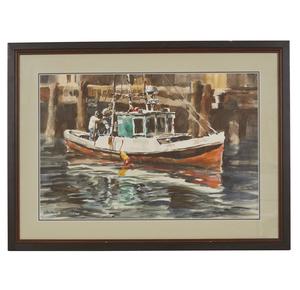 George Schreiter Watercolor,