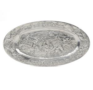 Large Arthur Court Hollowware, Oval Horse Platter