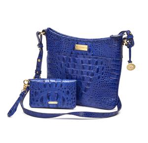 Brahmin Shoulder Bag with Wrist Wallet