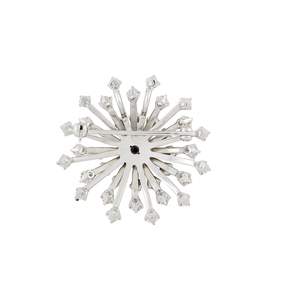 18k Diamond Brooch