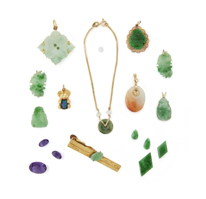 Assorted Gold and Gemstone Jewelry