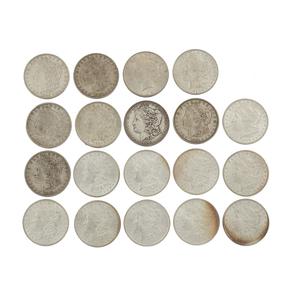 19 Pre 1964 Silver Dollars