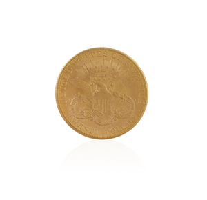 1907 Gold Liberty Head $20 Coin