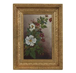 Pair of Victorian Floral Paintings