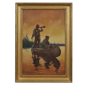 Oliver Kemp (1887-1934) Painting,