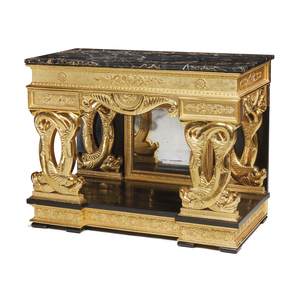 Regency Gilt Table