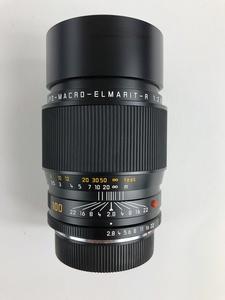 Leica APO - MACRO - ELMARIT - R 1:2.8/100 Camera Lens with Cap and Case