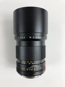 Leitz ELMARIT - R 1:2.8/180 Camera Lens with Cap and Case