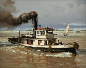 JAMES L. KENDRICK III (American/Louisiana 1946-2013) A PAINTING,