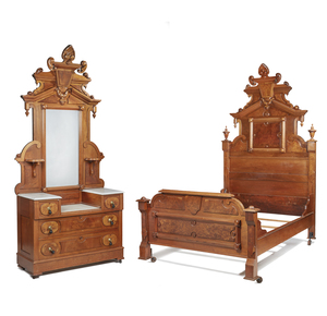 California Manufacture Two Piece Bedroom Suite