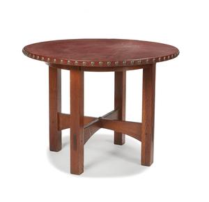 Gustav Stickley Lamp Table #626